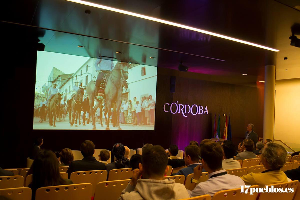 Promoción de los Piostros en la II Feria Internacional de Turismo Ecuestre de Córdoba, año 2018