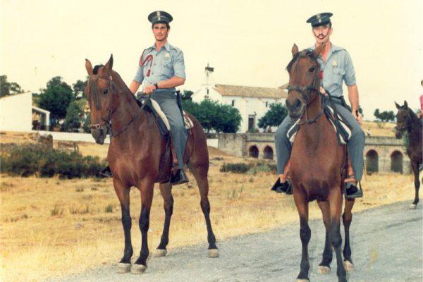 La Policía Local a caballo